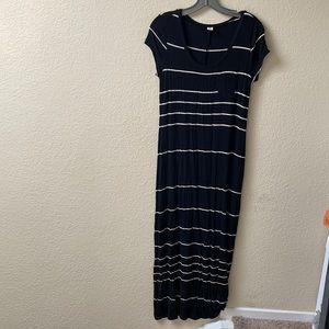 Knit maxi dress